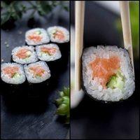 СЯКЕ МАКИ со слабосоленым лососем