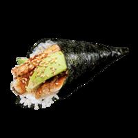 Темаки с лососем