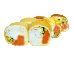 Тамаго с лососем